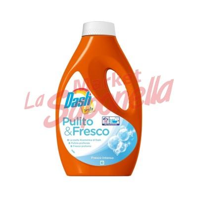 Dash simply detergent lichid curat&proaspat-18 spalari-990 ml